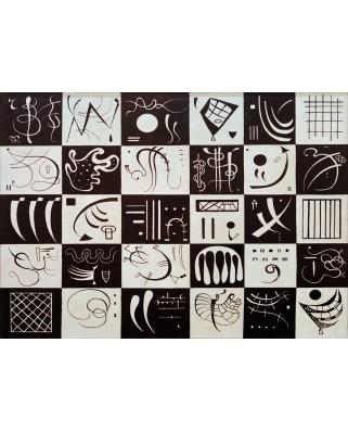 Puzzle Bluebird - Vassily Kandinsky: Trente, 1937, 1.000 piese (60051)