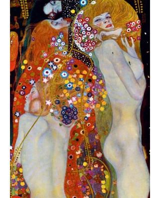 Puzzle Bluebird - Gustav Klimt: Water Serpents II, 1907, 1.000 piese (60052)