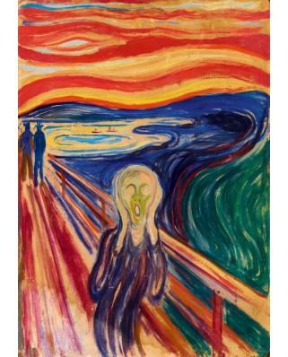 Puzzle 1000 piese - Edvard Munch: The Scream, 1910 (Art-by-Bluebird-60058)