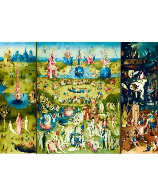 Puzzle Bluebird - Jerome Bosch: The Garden of Earthly Delights, 1.000 piese (60059)