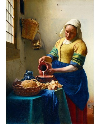 Puzzle Bluebird - Johannes Vermeer: The Milkmaid, 1658, 1.000 piese (60066)