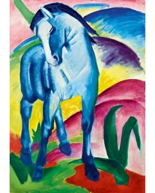 Puzzle Bluebird - Marc Franz: Blue Horse I, 1911, 1.000 piese (60069)