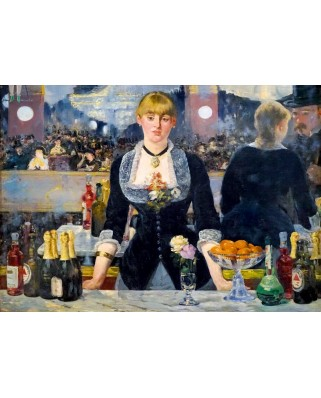 Puzzle Bluebird - Edouard Manet: A Bar at the Folies-Bergere, 1882, 1.000 piese (60080)