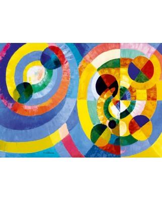 Puzzle Bluebird - Robert Delaunay: Circular Forms, 1930, 1.000 piese (60081)