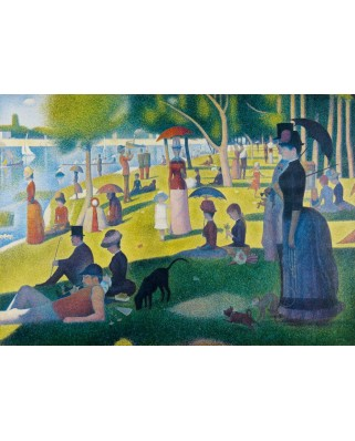Puzzle Bluebird - Georges Seurat: A Sunday Afternoon on the Island of La Grande Jatte, 1886, 1.000 piese (60086)