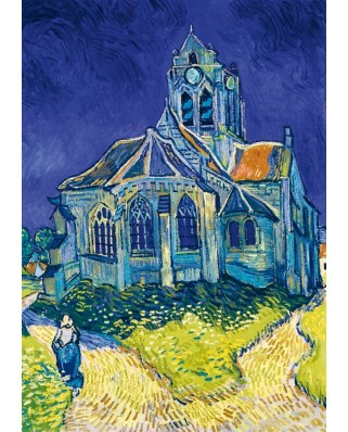 Puzzle Bluebird - Vincent Van Gogh: The Church in Auvers-sur-Oise, 1890, 1.000 piese (60089)
