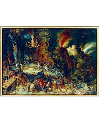 Puzzle Bluebird - Pieter Bruegel: Allegory of Fire, 1608, 1.000 piese (60091)