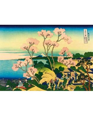 Puzzle Bluebird - Katsushika Hokusai: Shinagawa on the Tokaido, 1832, 1.000 piese (60093)