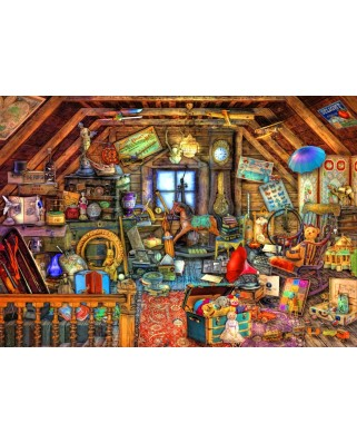 Puzzle Bluebird - Aimee Stewart: Hidden Object Attic, 1500 piese (70434)