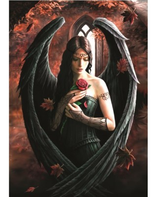 Puzzle Bluebird - Anne Stokes: Angel Rose, 1000 piese (70437)