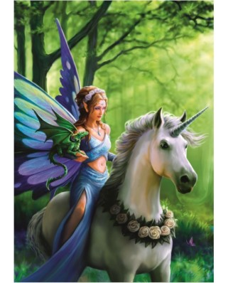 Puzzle Bluebird - Anne Stokes: Realm of Enchantment, 1500 piese (70440)