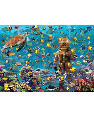 Puzzle Bluebird - Francois Ruyer: Under the Sea, 3000 piese (70446)