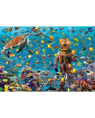 Puzzle Bluebird - Francois Ruyer: Under the Sea, 260 piese (70447)