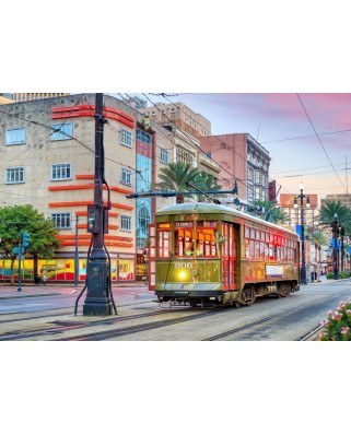 Puzzle Bluebird - Tramway, New Orleans, USA, 1000 piese (70448)