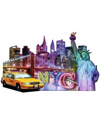 Puzzle Ravensburger - Contur Orizont New York, 1.158 piese (16153)