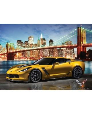Puzzle Eurographics - 2015 Chevrolet Corvette Z06, 1.000 piese (6000-0735)