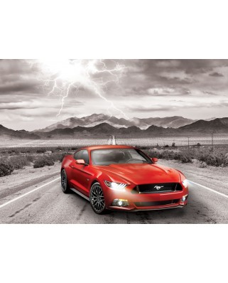 Puzzle Eurographics - 2015 Ford Mustang GT Fifty Years of Power, 1000 piese (6000-0702)