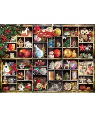 Puzzle Eurographics - Christmas Ornaments, 1000 piese (6000-0759)