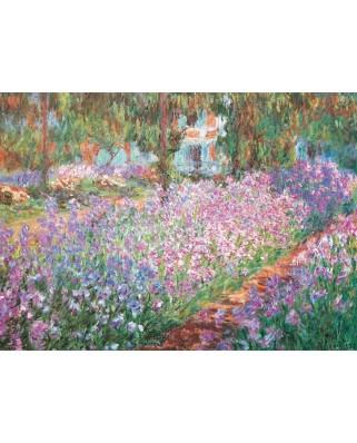 Puzzle Eurographics - Claude Monet: Monet's Garden, 1.000 piese (6000-4908)