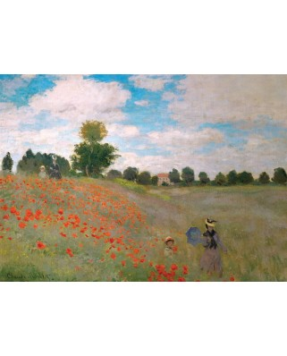 Puzzle Eurographics - Claude Monet: Poppies, 1.000 piese (6000-0826)