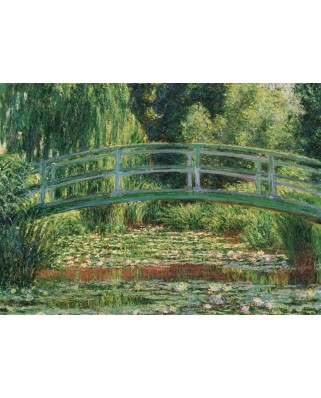 Puzzle Eurographics - Claude Monet: The Japanese Footbridge, 1.000 piese (6000-0827)