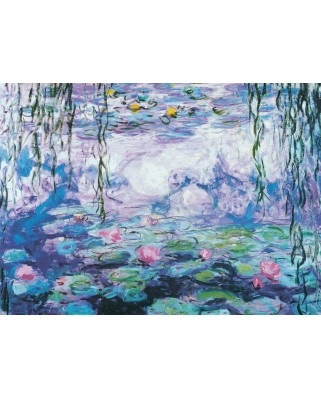 Puzzle Eurographics - Claude Monet: The Water Lilies, 1.000 piese (6000-4366)