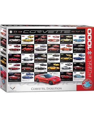 Puzzle Eurographics - Corvette Evolution, 1000 piese (6000-0683)
