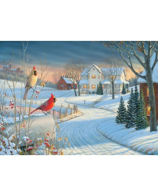 Puzzle Eurographics - Country Cardinals by Sam Timm, 1.000 piese (6000-0981)