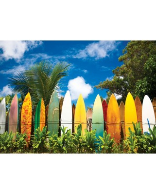 Puzzle Eurographics - Das Paradies fur Surfer - Hawaii, 1.000 piese (6000-0550)