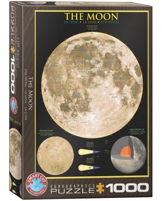 Puzzle Eurographics - Der Mond, 1000 piese (6000-1007)
