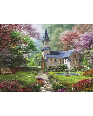 Puzzle Eurographics - Dominic Davison: Blooming Garden, 1000 piese (6000-0964)