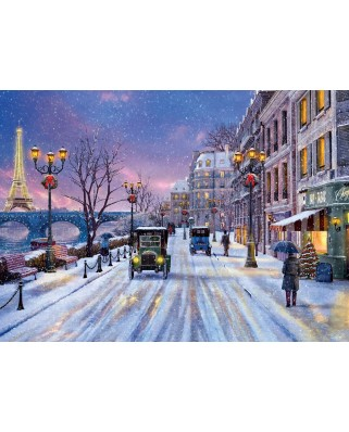 Puzzle Eurographics - Dominic Davison: Christmas Eve in Paris, 1.000 piese (6000-0785)