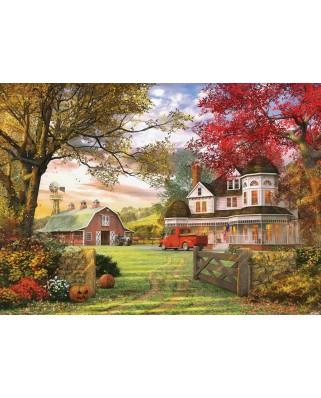 Puzzle Eurographics - Dominic Davison: Old Pumpkin Farm, 1.000 piese (6000-0694)