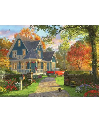 Puzzle Eurographics - Dominic Davison: The Blue Country House, 1000 piese (6000-0978)