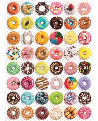 Puzzle Eurographics - Donuts, 1000 piese (6000-0585)