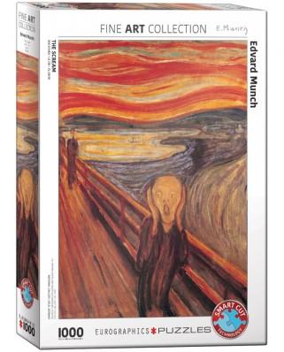 Puzzle Eurographics - Edvard Munch: Der Schrei, 1000 piese (6000-4489)
