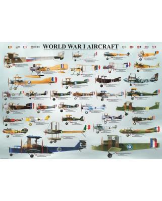 Puzzle Eurographics - Flugzeuge des 1. Weltkrieges, 1.000 piese (6000-0087)