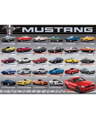 Puzzle Eurographics - Ford Mustang Evolution, 1000 piese (6000-0684)