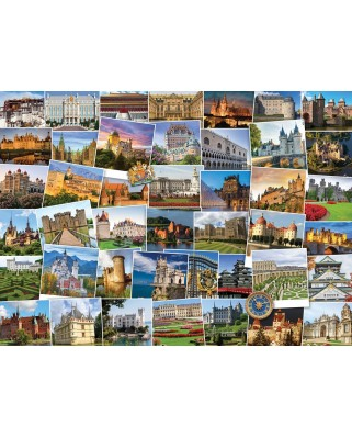 Puzzle Eurographics - Globetrotter - Castles and Palaces, 1.000 piese (6000-0762)