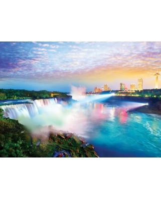 Puzzle Eurographics - Globetrotter - Niagara Falls, 1.000 piese (6000-0770)