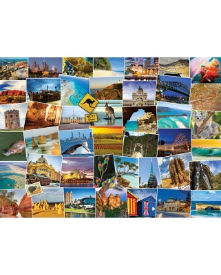 Puzzle Eurographics - Globetrotter Australia, 1000 piese (6000-0753)