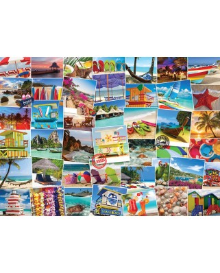 Puzzle Eurographics - Globetrotter Beaches, 1.000 piese (6000-0761)
