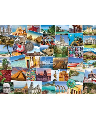 Puzzle Eurographics - Globetrotter Mexico, 1000 piese (6000-0767)