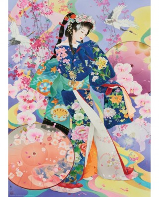Puzzle Eurographics - Haruyo Morita: Seika, 1.000 piese (6000-0983)