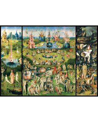 Puzzle Eurographics - Hieronymus Bosch: The Garden of Earthly Delights, 1.000 piese (6000-0830)