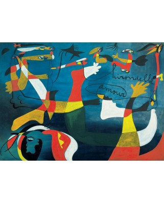 Puzzle Eurographics - Joan Miro: Hirondelle Amour, 1.000 piese (6000-0859)