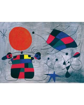 Puzzle Eurographics - Joan Miro: Le Sourire aux Ailes Flamboyantes, 1000 piese (6000-0856)