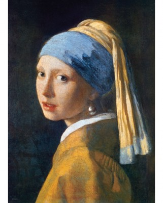 Puzzle Eurographics - Johannes Vermeer: The Girl with a Pearl Earring, 1665, 1.000 piese (6000-5158)