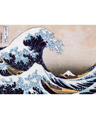 Puzzle Eurographics - Katsushika Hokusai: Super Welle in Kanagawa, 1000 piese (6000-1545)