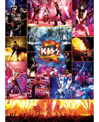 Puzzle Eurographics - KISS The Hottest Show on Earth, 1000 piese (6000-5306)